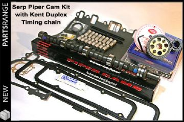 Piper Camshaft Kit with Kent full vernier timing wheel for Serpentine front end